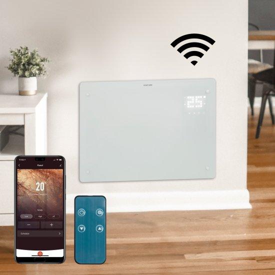 "Devola Designer 1.5kW WiFi Compatible Glass Panel Heater White LOT 20 Compliant - DVPW1500WH (Return Unit) - (Used) Grade A Devola Heating Devola Designer 1.5kW WiFi Compatible Glass Panel Heater White LOT 20 Compliant - DVPW1500WH (Return Unit) - (Used) Grade A Shop The Very Best Air Con Deals Online at <a href=""http://Appliance-Deals.com"">Appliance-Deals.com</a>"
