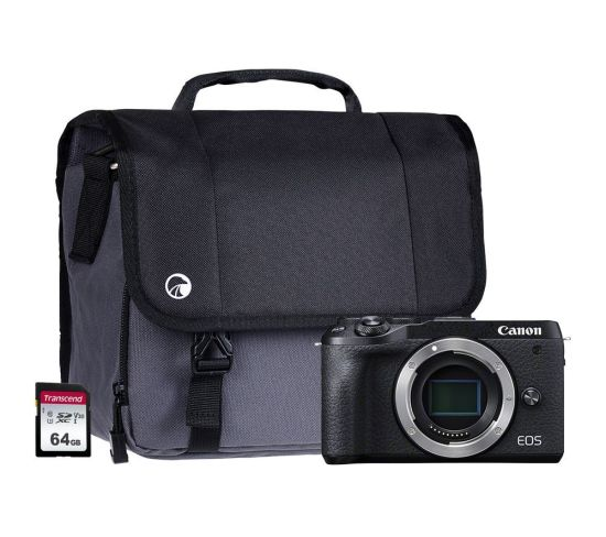"""CANON EOS M6 Mark II Mirrorless Camera Body Only, 64 GB SD Card & Bag Bundle Currys Cameras CANON EOS M6 Mark II Mirrorless Camera Body Only, 64 GB SD Card & Bag Bundle Shop The Very Best Deals Online at <a href=""""http://Appliance-Deals.com"""">Appliance-Deals.com</a> <a href=""""https://www.awin1.com/cread.php?awinmid=19526&awinaffid=792795&ued=https%3A%2F%2Fao.com""""><img class="""" wp-image-9780000159235 aligncenter"""" src=""""https://appliance-deals.com/wp-content/uploads/2021/02/ao-new.jpg"""" alt=""""Appliance Deals"""" width=""""112"""" height=""""112"""" /></a> <a href=""""https://www.awin1.com/cread.php?awinmid=19526&awinaffid=792795&ued=https%3A%2F%2Fao.com""""><img class="""" wp-image-9780000159235 aligncenter"""" src=""""https://appliance-deals.com/wp-content/uploads/2021/03/curryspcworld_500x500_thumb.png"""" alt=""""Appliance Deals"""" width=""""112"""" height=""""112"""" /></a>"""