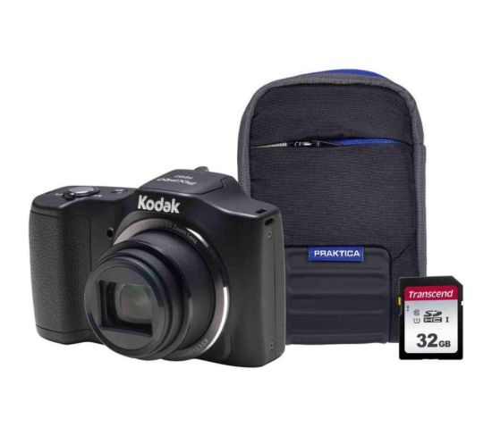 """KODAK PIXPRO Friendly Zoom FZ152 Compact Camera Kit with 32 GB SD Card and Case - Black, Black Currys Cameras KODAK PIXPRO Friendly Zoom FZ152 Compact Camera Kit with 32 GB SD Card and Case - Black, Black Shop The Very Best Deals Online at <a href=""""http://Appliance-Deals.com"""">Appliance-Deals.com</a> <a href=""""https://www.awin1.com/cread.php?awinmid=19526&awinaffid=792795&ued=https%3A%2F%2Fao.com""""><img class="""" wp-image-9780000159235 aligncenter"""" src=""""https://appliance-deals.com/wp-content/uploads/2021/02/ao-new.jpg"""" alt=""""Appliance Deals"""" width=""""112"""" height=""""112"""" /></a> <a href=""""https://www.awin1.com/cread.php?awinmid=19526&awinaffid=792795&ued=https%3A%2F%2Fao.com""""><img class="""" wp-image-9780000159235 aligncenter"""" src=""""https://appliance-deals.com/wp-content/uploads/2021/03/curryspcworld_500x500_thumb.png"""" alt=""""Appliance Deals"""" width=""""112"""" height=""""112"""" /></a>"""