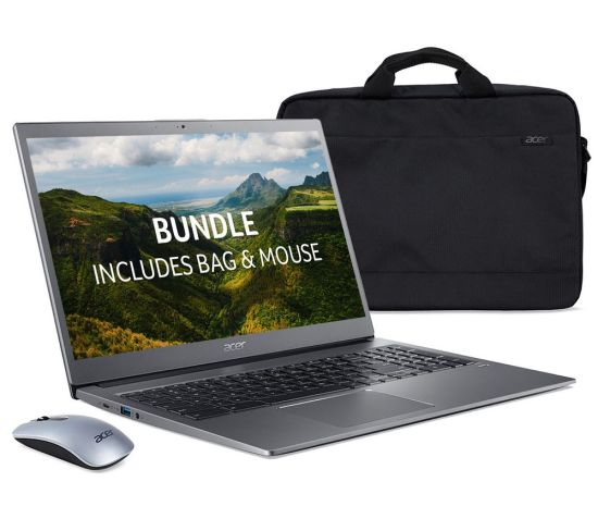 """ACER 715 15.6"""" Chromebook, Bag & Mouse Bundle - Intel®Core™ i3, 128 GB eMMC, Grey, Grey Currys laptops, Currys Laptop Sale, Acer Laptops ACER 715 15.6"""" Chromebook, Bag & Mouse Bundle - Intel®Core™ i3, 128 GB eMMC, Grey, Grey Shop The Very Best Laptop Deals Online at <a href=""""http://Appliance-Deals.com"""">Appliance-Deals.com</a> <a href=""""https://www.awin1.com/cread.php?awinmid=1599&awinaffid=792795&ued=https%3A%2F%2Fwww.currys.co.uk%2Fgbuk%2Fcomputing-33-u.html""""><img class="""" wp-image-9780000159235 aligncenter"""" src=""""https://appliance-deals.com/wp-content/uploads/2021/03/curryspcworld_500x500_thumb.png"""" alt=""""Appliance Deals"""" width=""""112"""" height=""""112"""" /></a>"""