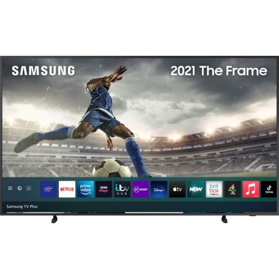 """Samsung QLED QE43LS03AA 43"""" Smart 4K Ultra HD TV, With Quantum Processor 4K and Apple TV App AO Samsung TV Samsung QLED QE43LS03AA 43"""" Smart 4K Ultra HD TV, With Quantum Processor 4K and Apple TV App Shop The Very Best TV Deals Online with Fast Delivery and Amazing Offers at <a href=""""http://Appliance-Deals.com"""">Appliance-Deals.com</a> <a href=""""https://www.awin1.com/cread.php?awinmid=1599&awinaffid=792795&ued=https%3A%2F%2Fcurrys.co.uk""""><img class="""" wp-image-9780000159235 aligncenter"""" src=""""https://appliance-deals.com/wp-content/uploads/2021/03/curryspcworld_500x500_thumb.png"""" alt=""""Appliance Deals"""" width=""""112"""" height=""""112"""" /></a> <a href=""""https://www.awin1.com/cread.php?awinmid=19526&awinaffid=792795&ued=https%3A%2F%2Fao.com""""><img class="""" wp-image-9780000159235 aligncenter"""" src=""""https://appliance-deals.com/wp-content/uploads/2021/02/ao-new.jpg"""" alt=""""Appliance Deals"""" width=""""112"""" height=""""112"""" /></a>"""