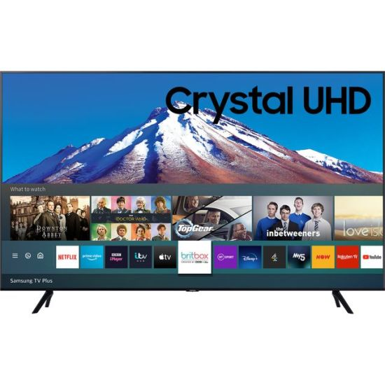 """Samsung UE43TU7020 43"""" Smart 4K Ultra HD TV AO Samsung TV Samsung UE43TU7020 43"""" Smart 4K Ultra HD TV Shop The Very Best TV Deals Online with Fast Delivery and Amazing Offers at <a href=""""http://Appliance-Deals.com"""">Appliance-Deals.com</a> <a href=""""https://www.awin1.com/cread.php?awinmid=1599&awinaffid=792795&ued=https%3A%2F%2Fcurrys.co.uk""""><img class="""" wp-image-9780000159235 aligncenter"""" src=""""https://appliance-deals.com/wp-content/uploads/2021/03/curryspcworld_500x500_thumb.png"""" alt=""""Appliance Deals"""" width=""""112"""" height=""""112"""" /></a> <a href=""""https://www.awin1.com/cread.php?awinmid=19526&awinaffid=792795&ued=https%3A%2F%2Fao.com""""><img class="""" wp-image-9780000159235 aligncenter"""" src=""""https://appliance-deals.com/wp-content/uploads/2021/02/ao-new.jpg"""" alt=""""Appliance Deals"""" width=""""112"""" height=""""112"""" /></a>"""