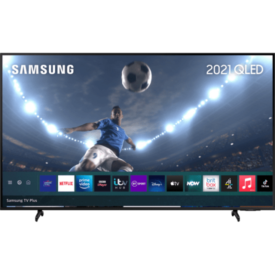 """Samsung QLED QE85Q60AA 85"""" Smart 4K Ultra HD TV With 100% Colour Volume and Apple TV App AO Samsung TV Samsung QLED QE85Q60AA 85"""" Smart 4K Ultra HD TV With 100% Colour Volume and Apple TV App Shop The Very Best TV Deals Online with Fast Delivery and Amazing Offers at <a href=""""http://Appliance-Deals.com"""">Appliance-Deals.com</a> <a href=""""https://www.awin1.com/cread.php?awinmid=1599&awinaffid=792795&ued=https%3A%2F%2Fcurrys.co.uk""""><img class="""" wp-image-9780000159235 aligncenter"""" src=""""https://appliance-deals.com/wp-content/uploads/2021/03/curryspcworld_500x500_thumb.png"""" alt=""""Appliance Deals"""" width=""""112"""" height=""""112"""" /></a> <a href=""""https://www.awin1.com/cread.php?awinmid=19526&awinaffid=792795&ued=https%3A%2F%2Fao.com""""><img class="""" wp-image-9780000159235 aligncenter"""" src=""""https://appliance-deals.com/wp-content/uploads/2021/02/ao-new.jpg"""" alt=""""Appliance Deals"""" width=""""112"""" height=""""112"""" /></a>"""