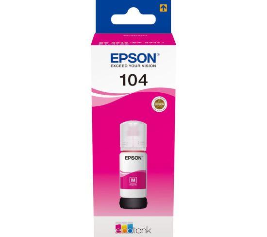 "EPSON 104 Ecotank Magenta Ink Bottle, Magenta Appliance Deals EPSON 104 Ecotank Magenta Ink Bottle, Magenta Shop & Save Today With The Best Appliance Deals Online at <a href=""http://Appliance-Deals.com"">Appliance-Deals.com</a>"