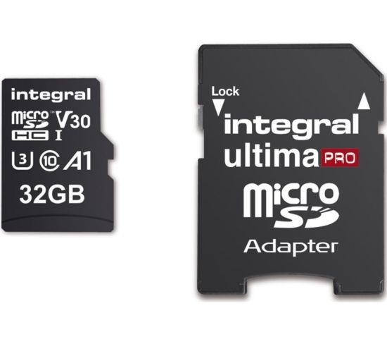 """INTEGRAL V30 Class 10 microSD Memory Card - 32 GB Appliance Deals INTEGRAL V30 Class 10 microSD Memory Card - 32 GB Shop & Save Today With The Best Appliance Deals Online at <a href=""""http://Appliance-Deals.com"""">Appliance-Deals.com</a>"""