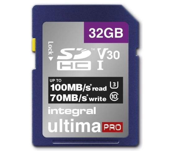 """INTEGRAL V30 Class 10 SD Memory Card - 32 GB Appliance Deals INTEGRAL V30 Class 10 SD Memory Card - 32 GB Shop & Save Today With The Best Appliance Deals Online at <a href=""""http://Appliance-Deals.com"""">Appliance-Deals.com</a>"""