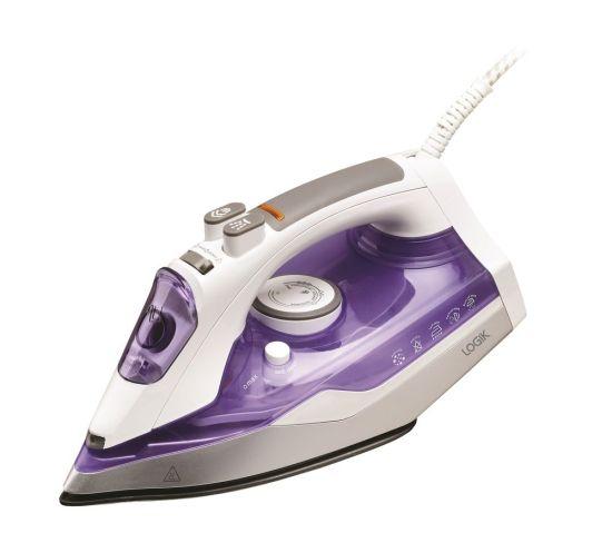 "LOGIK L220IR20 Steam Iron - Purple, Purple Appliance Deals LOGIK L220IR20 Steam Iron - Purple, Purple Shop & Save Today With The Best Appliance Deals Online at <a href=""http://Appliance-Deals.com"">Appliance-Deals.com</a>"