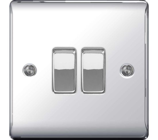 "BG ELECTRICAL Decorative NPC42-01 Push-button Switch - Polished Chrome Appliance Deals BG ELECTRICAL Decorative NPC42-01 Push-button Switch - Polished Chrome Shop & Save Today With The Best Appliance Deals Online at <a href=""http://Appliance-Deals.com"">Appliance-Deals.com</a>"