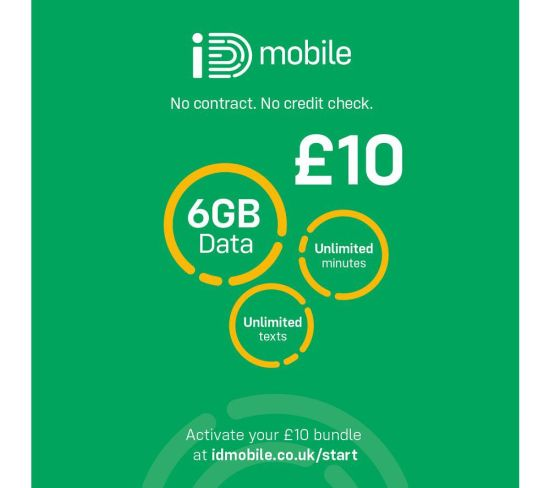 """IDMOBILE 4G SIM Card - £10, 6 GB Appliance Deals IDMOBILE 4G SIM Card - £10, 6 GB Shop & Save Today With The Best Appliance Deals Online at <a href=""""http://Appliance-Deals.com"""">Appliance-Deals.com</a>"""