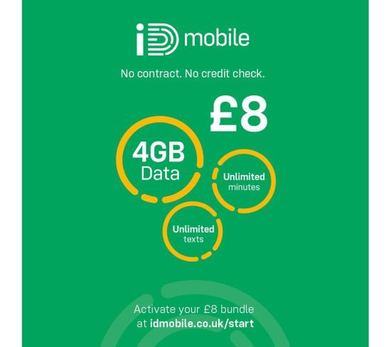 """IDMOBILE 4G SIM Card - £8, 4 GB Appliance Deals IDMOBILE 4G SIM Card - £8, 4 GB Shop & Save Today With The Best Appliance Deals Online at <a href=""""http://Appliance-Deals.com"""">Appliance-Deals.com</a>"""