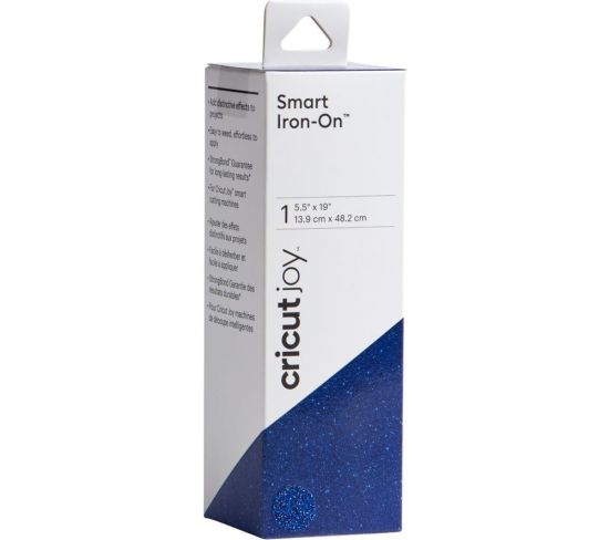 """CRICUT Joy Smart Iron-On Material - Glitter Sapphire Appliance Deals CRICUT Joy Smart Iron-On Material - Glitter Sapphire Shop & Save Today With The Best Appliance Deals Online at <a href=""""http://Appliance-Deals.com"""">Appliance-Deals.com</a>"""