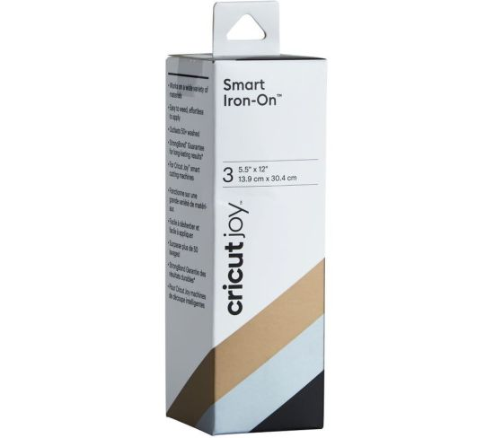 """CRICUT Joy Smart Iron-On Material - Black, Gold & Silver, Black Appliance Deals CRICUT Joy Smart Iron-On Material - Black, Gold & Silver, Black Shop & Save Today With The Best Appliance Deals Online at <a href=""""http://Appliance-Deals.com"""">Appliance-Deals.com</a>"""