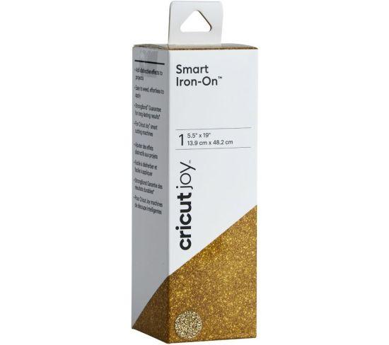 """CRICUT Joy Smart Iron-On Material - Glitter Gold, Gold Appliance Deals CRICUT Joy Smart Iron-On Material - Glitter Gold, Gold Shop & Save Today With The Best Appliance Deals Online at <a href=""""http://Appliance-Deals.com"""">Appliance-Deals.com</a>"""