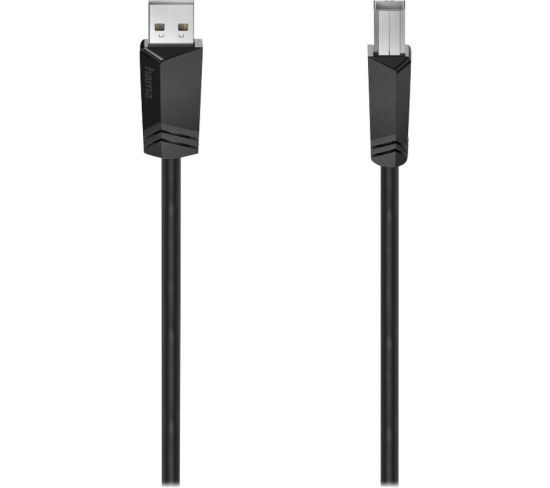 """HAMA USB to USB-B Cable - 3 m Appliance Deals HAMA USB to USB-B Cable - 3 m Shop & Save Today With The Best Appliance Deals Online at <a href=""""http://Appliance-Deals.com"""">Appliance-Deals.com</a>"""