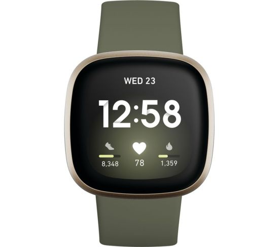 """FITBIT Versa 3 - Soft Gold & Olive, Gold FITBIT Versa 3 - Soft Gold & Olive, Gold Shop The Very Best FitBit Sale Deals Online at <a href=""""http://Appliance-Deals.com"""">Appliance-Deals.com</a> <a href=""""https://www.awin1.com/cread.php?awinmid=1599&awinaffid=792795&ued=https%3A%2F%2Fcurrys.co.uk""""><img class="""" wp-image-9780000159235 aligncenter"""" src=""""https://appliance-deals.com/wp-content/uploads/2021/03/curryspcworld_500x500_thumb.png"""" alt=""""fitbit Appliance Deals"""" width=""""112"""" height=""""112"""" /></a>"""