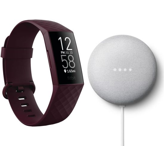 """FITBIT Charge 4 Fitness Tracker & Google Nest Mini (2nd Gen) Bundle - Rosewood & Chalk FITBIT Charge 4 Fitness Tracker & Google Nest Mini (2nd Gen) Bundle - Rosewood & Chalk Shop The Very Best FitBit Sale Deals Online at <a href=""""http://Appliance-Deals.com"""">Appliance-Deals.com</a> <a href=""""https://www.awin1.com/cread.php?awinmid=1599&awinaffid=792795&ued=https%3A%2F%2Fcurrys.co.uk""""><img class="""" wp-image-9780000159235 aligncenter"""" src=""""https://appliance-deals.com/wp-content/uploads/2021/03/curryspcworld_500x500_thumb.png"""" alt=""""fitbit Appliance Deals"""" width=""""112"""" height=""""112"""" /></a>"""
