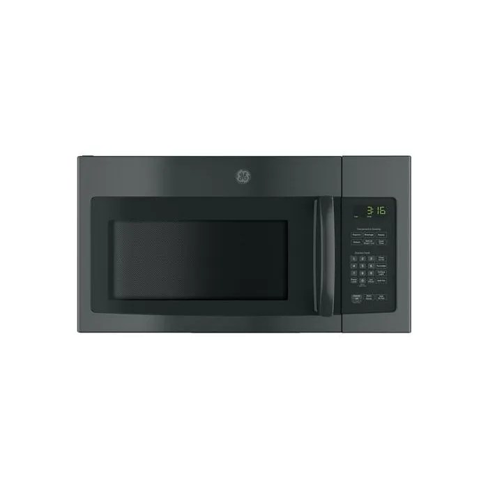 ge 1 6 cu ft over the range microwave oven with recirculating venting jnm3163djbb