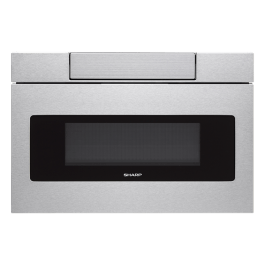 sharp 24 in 1 2 cu ft 1000w stainless steel microwave drawer oven smd2470asy
