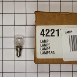 00422173 Bosch Dryer Light Bulb