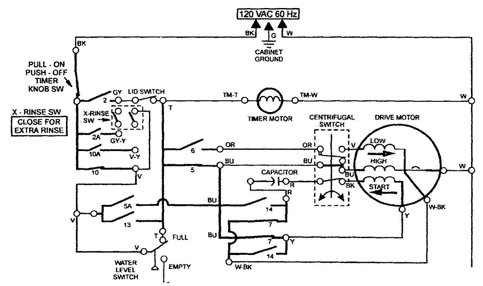 Start Capacitor Schematic