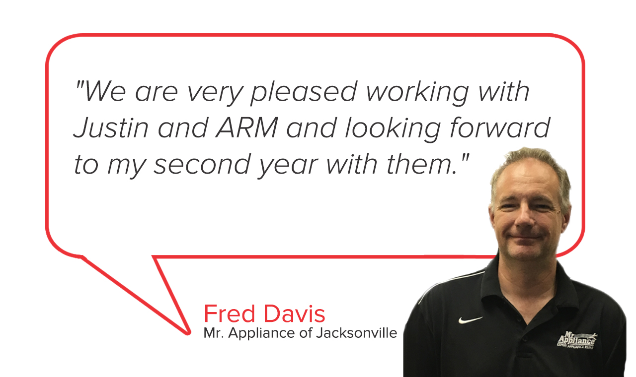 Mr. Appliance of Jacksonville | Fred Davis Testimonial