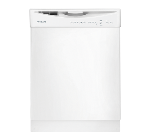 """Frigidaire 24"""" Built-In Dishwasher White-FFBD2411NW 
