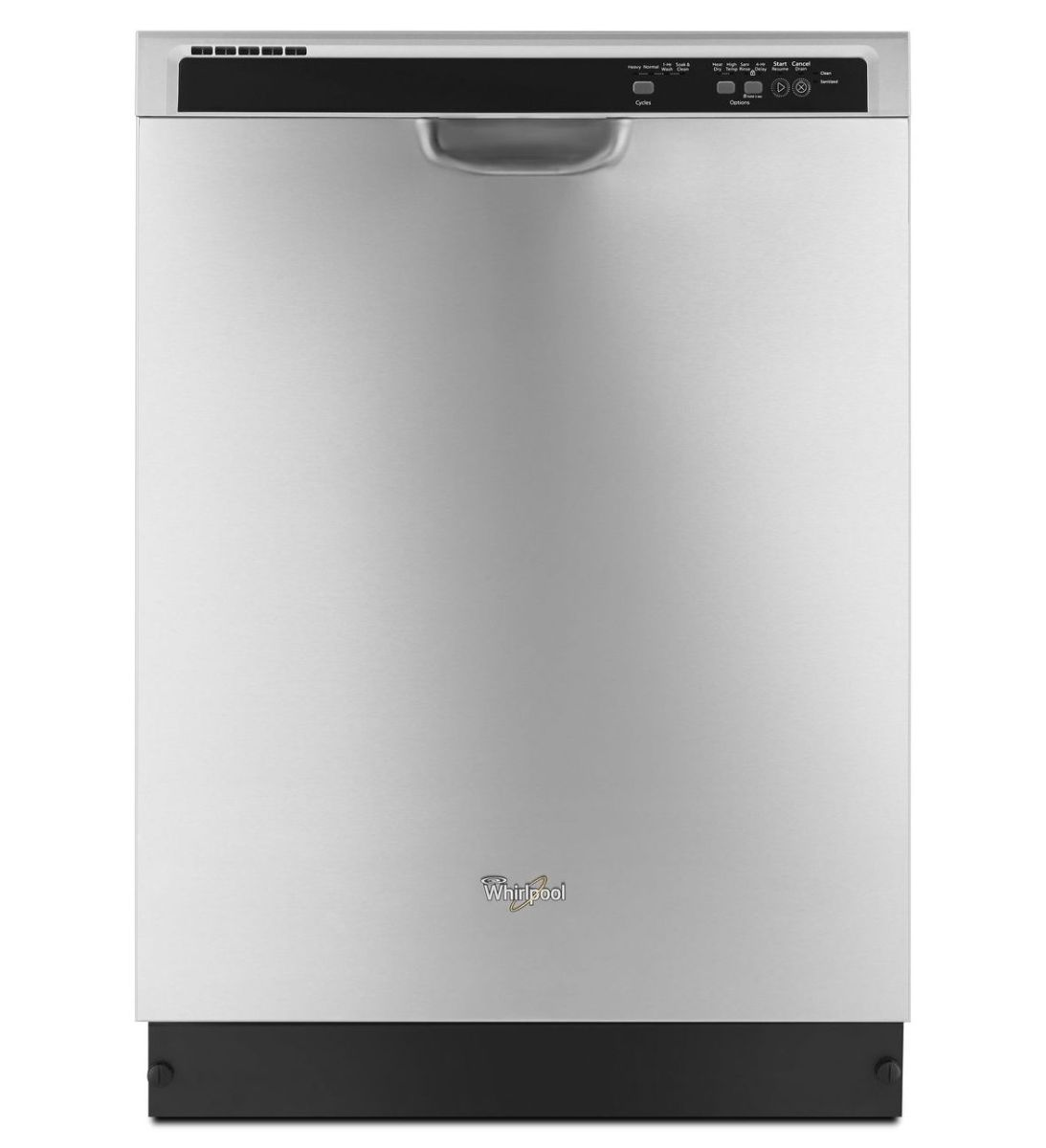 Whirlpool Front Control Dishwasher In Monochromatic
