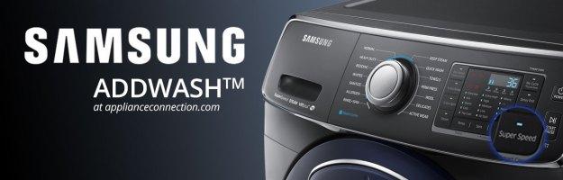 new samsung addwash 27-inch front load washing machine | appliances