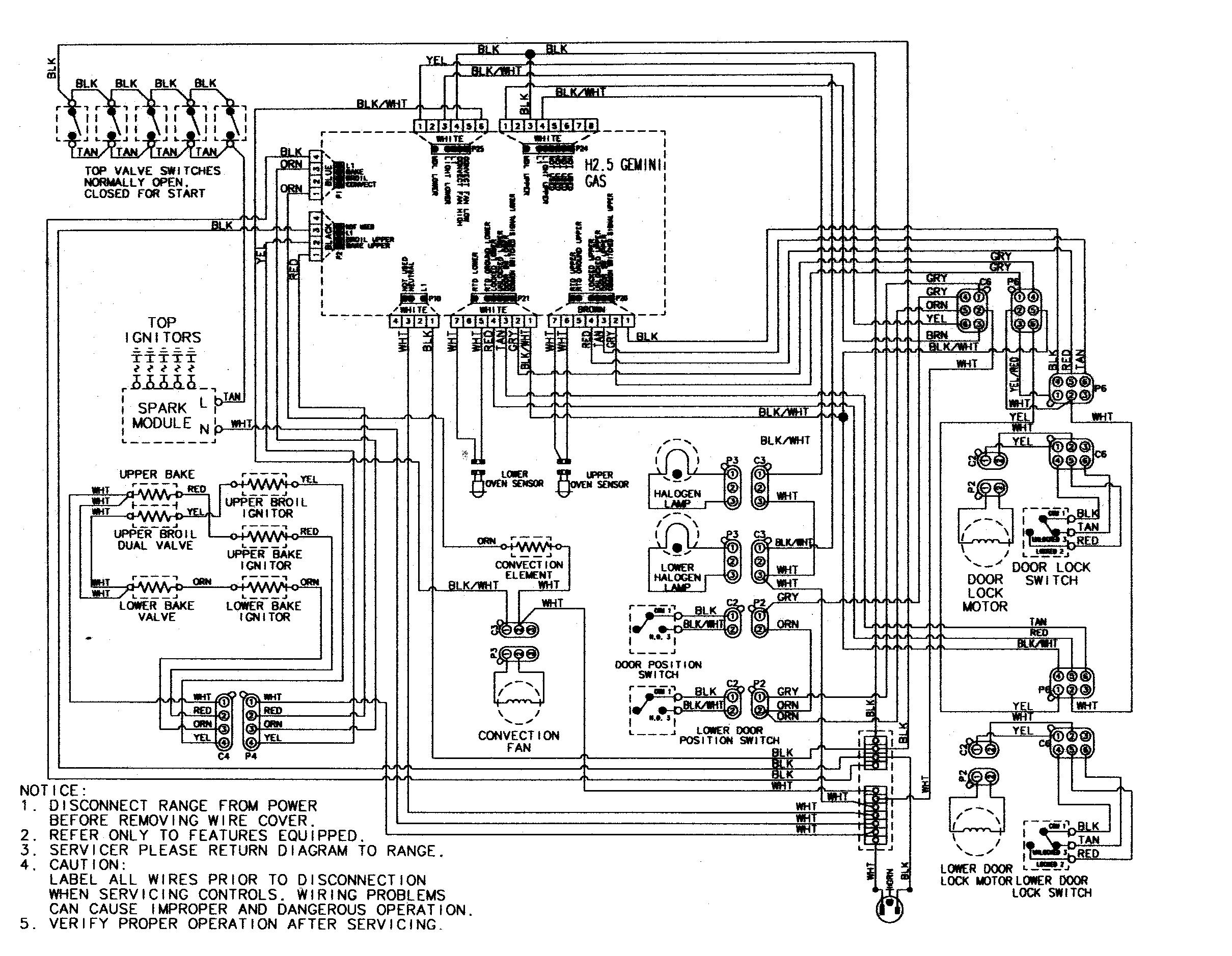 "Maytag MGR6875ADB Gemini 30"" Double Oven Freestanding Gas"