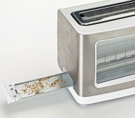 Image result for crumb tray TOASTER