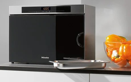 countertop steam oven from miele