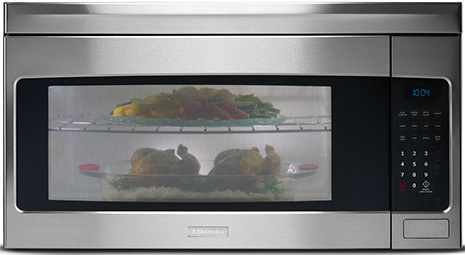 over the range microwave from kitchenaid