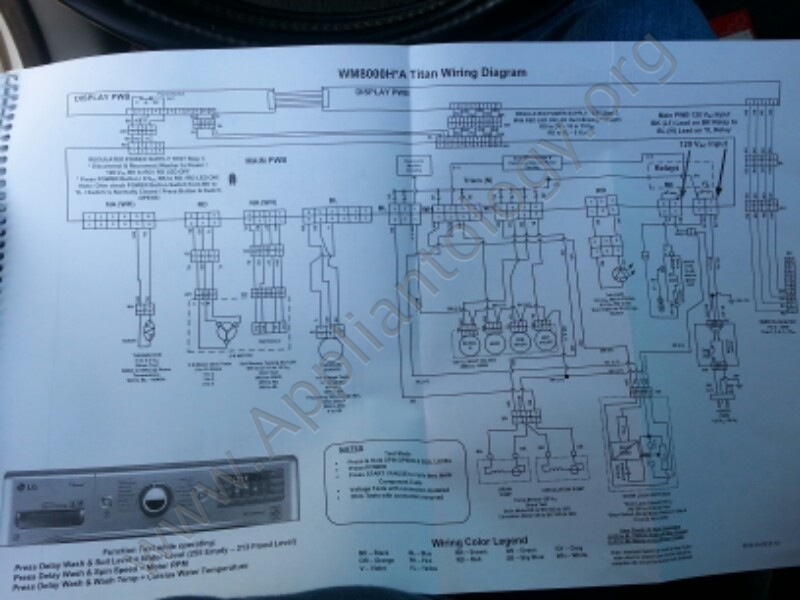 Lg Titan Washer Training Wiring Diagram