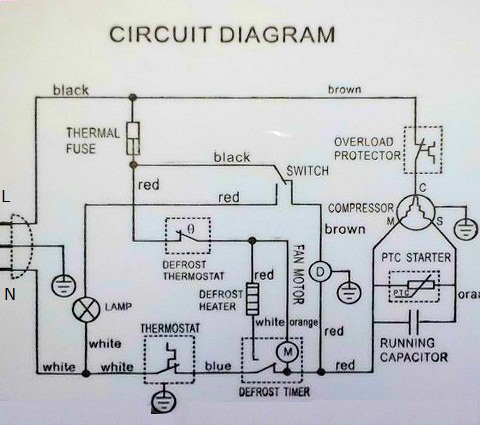 Fridge thermostat wiring diagram efcaviation fridge thermostat wiring diagram diagram of fridge thermostat 3 wire fridge thermostat wiring design swarovskicordoba Gallery