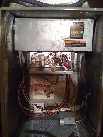 Trane Model Twg025a140b1 Blowing Fuse When Throwing Heat