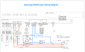 Samsung DV42H Dryer Wiring Diagram  The Appliantology
