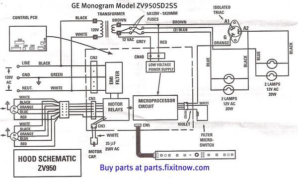 circuit diagrams  electrical diagram ge refrigerator