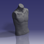 Male body scan