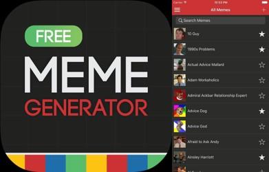 logo y banco de imágenes de meme generator free
