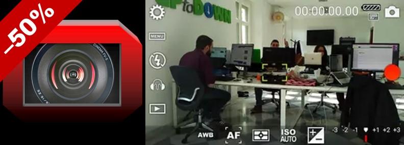 logo y muestra de cinema fv-5 lite en aplicaciones para vídeos