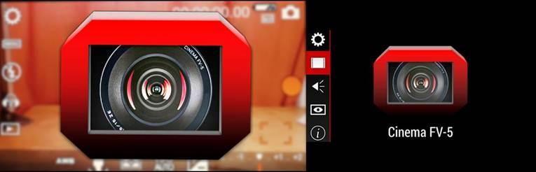 aplicaciones para grabar vídeos cinema fv 5