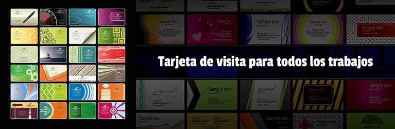 modelos en la app diseño de tarjeta presentación - visita gratis