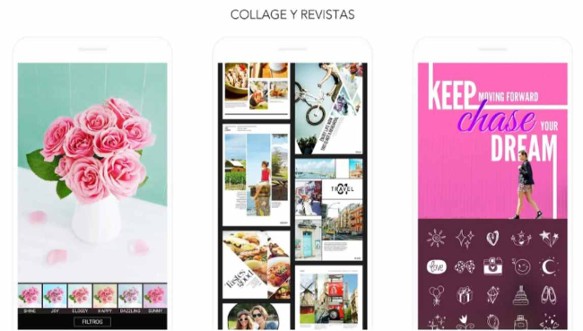 Aplicaciones para editar collages, Moldiv
