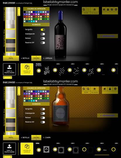 caracteristicas al descargar labelabbymanter