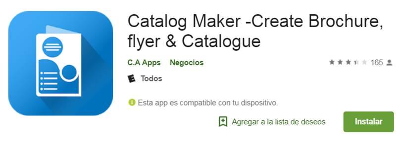 descargar catalog maker en google play