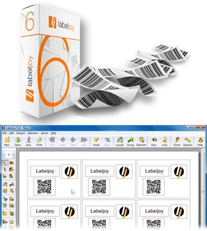 interfaz de aplicaciones para hacer etiquetas labeljoy