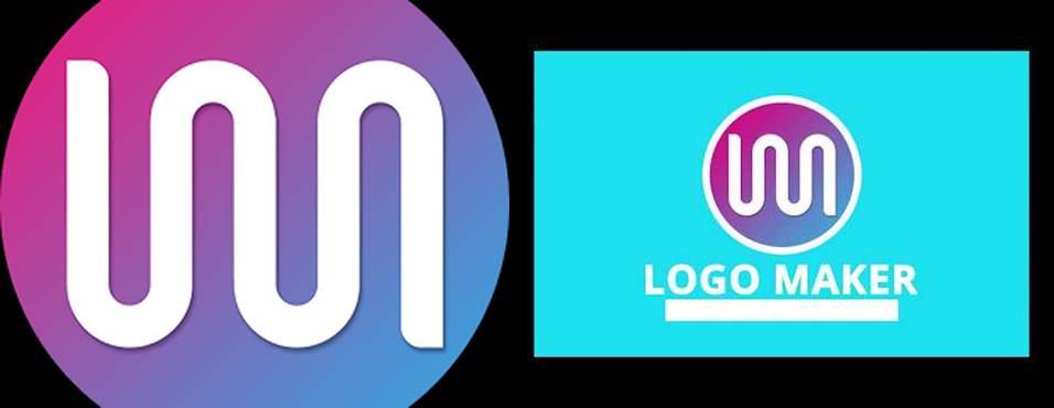 logo de la app logo maker de iris studios