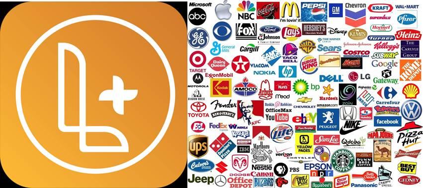 logo de logo maker plus y multiples marcas