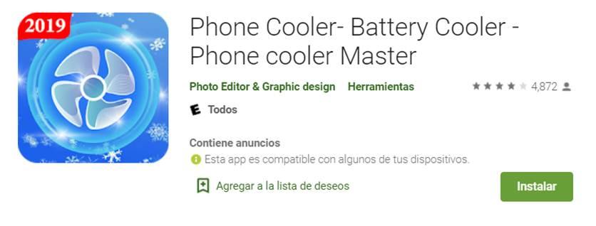 descargar phone cooler