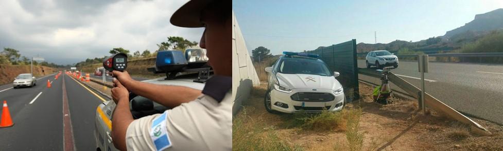aplicaciones de radares policiales